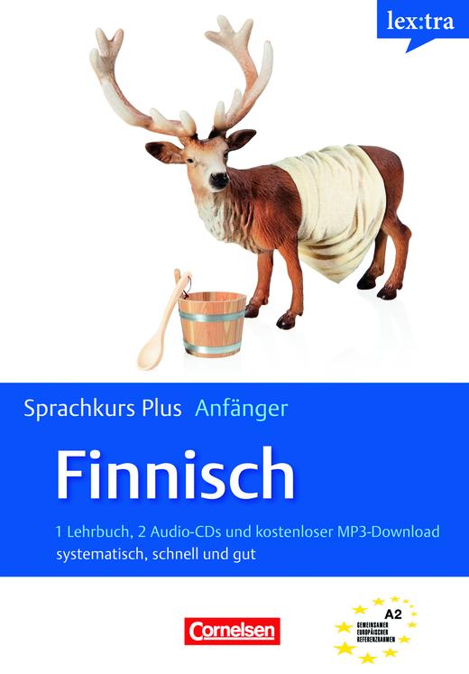 Lextra - Finnisch - Selbstlernbuch mit CDs und Audios online - A1/A2