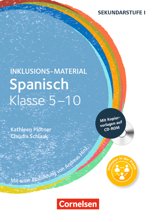 Inklusions-Material - Spanisch Klasse 5-10 - Buch mit CD-ROM