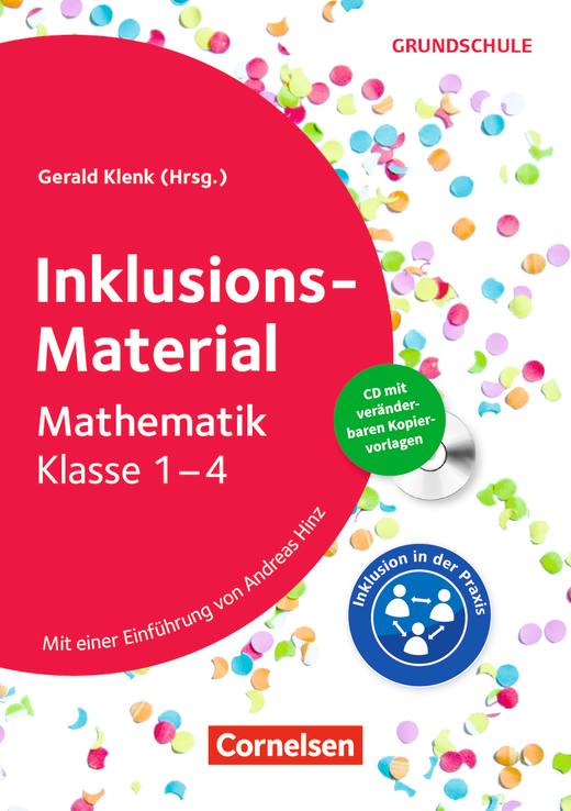 Inklusions-Material Grundschule - Mathematik Klasse 1-4 - Buch mit CD-ROM