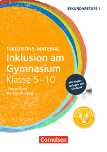 Inklusions-Material - Inklusion am Gymnasium - Klasse 5-10 - Buch mit CD-ROM