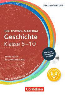 Inklusions-Material - Geschichte Klasse 5-10 - Buch mit CD-ROM