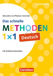 Fachmethoden Grundschule - Das schnelle Methoden-1x1 Deutsch (3. Auflage) - Buch
