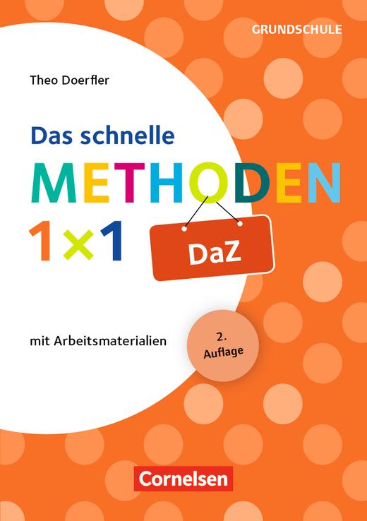 Fachmethoden Grundschule - Das schnelle Methoden-1x1 DaZ - Buch