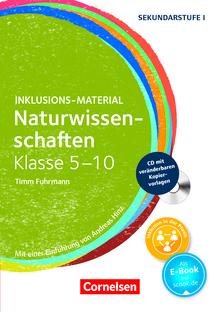 Inklusions-Material - Naturwissenschaften Klasse 5-10 - Buch mit CD-ROM