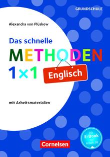 Fachmethoden Grundschule - Das schnelle Methoden-1x1 Englisch - Buch mit Kopiervorlagen über Webcode