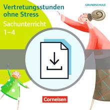 Vertretungsstunden ohne Stress - Vertretungsstunden ohne Stress Sachunterricht 1-4 - Kopiervorlagen als PDF