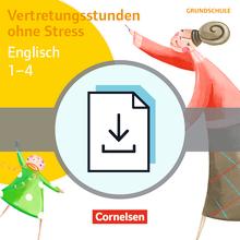 Vertretungsstunden ohne Stress - Vertretungsstunden ohne Stress Englisch 1-4 - Kopiervorlagen als PDF
