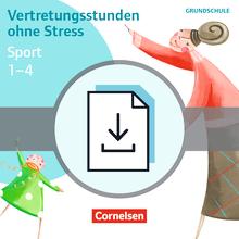 Vertretungsstunden ohne Stress - Vertretungsstunden ohne Stress Sport 1-4 - Kopiervorlagen als PDF