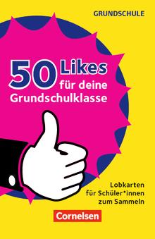 50 Likes für deine Grundschulklasse! - Lobkarten für Schüler*innen zum Sammeln - 50 Bildkarten