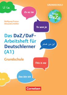 """""""Das bin ich"""" - das DaZ/DaF-Arbeitsheft für Deutschlerner (A1) Grundschule - Mit Aufgaben zum Gestalten, Schreiben und Sprechen - Kopiervorlagen"""