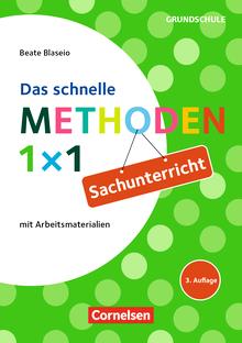 Fachmethoden Grundschule - Das schnelle Methoden-1x1 Sachunterricht (3. Auflage) - Buch mit Kopiervorlagen über Webcode