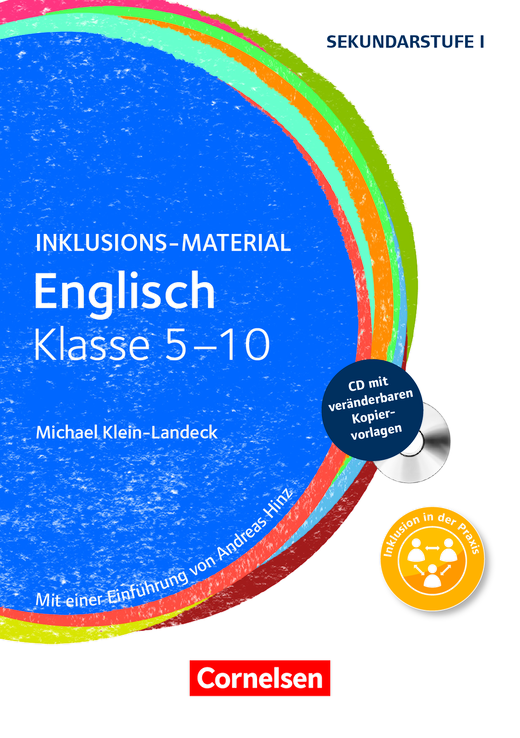Inklusions-Material - Englisch - Klasse 5-10 - Buch mit CD-ROM