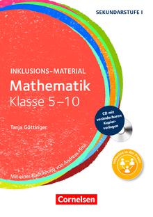 Inklusions-Material - Mathematik - Klasse 5-10 - Buch mit CD-ROM