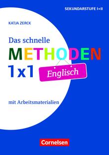 Fachmethoden Sekundarstufe I und II - Das schnelle Methoden-1x1 Englisch (2. Auflage) - Buch mit Kopiervorlagen über Webcode