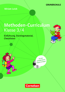 Methoden-Curriculum für die Schule - Methoden Curriculum - Klasse 3/4 - Kopiervorlagen mit CD-ROM