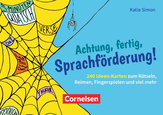 Achtung, fertig, Sprachförderung! - 240 Ideen-Karten zum Rätseln, Reimen, Fingerspielen und viel mehr - Bildkarten