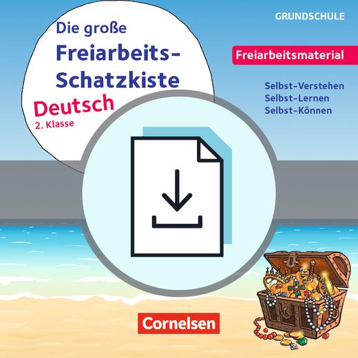 Freiarbeitsmaterial für die Grundschule - Die große Freiarbeits-Schatzkiste - Selbst-Verstehen, Selbst-Lernen, Selbst-Können - Kopiervorlagen als PDF - Klasse 2