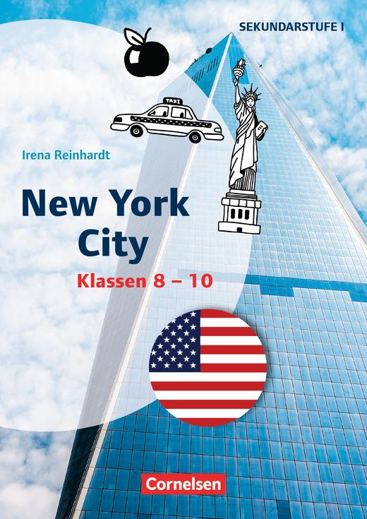Themenhefte Fremdsprachen SEK - New York City - Kopiervorlagen als PDF - Klasse 8-10