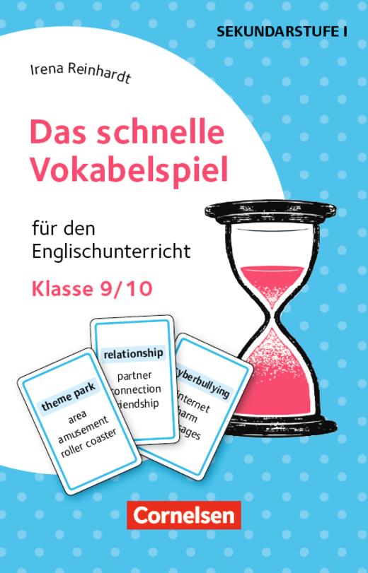 Das schnelle Vokabelspiel - Für den Englischunterricht - Klasse 9/10 - 30 Lernkarten