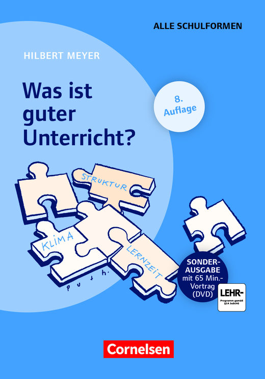 Praxisbuch Meyer - Was ist guter Unterricht? (8. Auflage) - Buch (Festeinband) mit Video-DVD