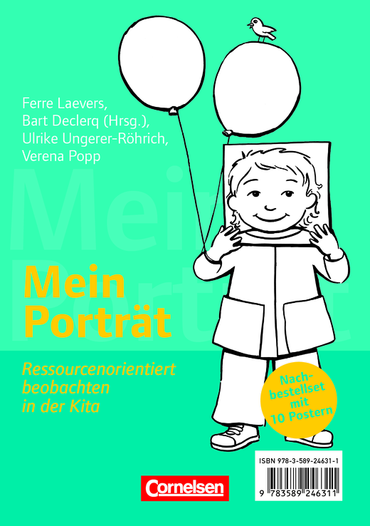 Mein Porträt - Mein Porträt - Poster Nachbestell-Set (10 Stück) - Poster