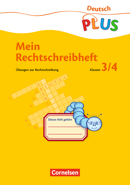 Deutsch plus - Grundschule - Übungen zur Rechtschreibung - Übungsheft - 3./4. Schuljahr