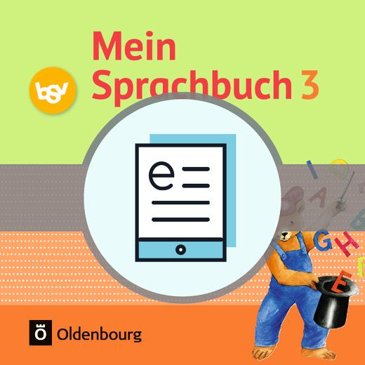 Mein Sprachbuch - Schülerbuch als E-Book - 3. Jahrgangsstufe