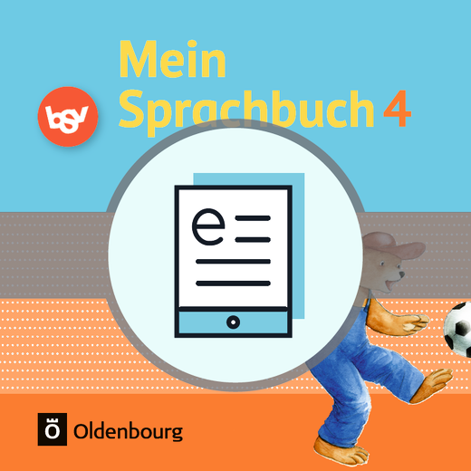 Mein Sprachbuch - Schülerbuch als E-Book - 4. Jahrgangsstufe