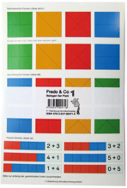 Fredo - Mathematik - Beilagen im 5er-Pack - 1. Schuljahr