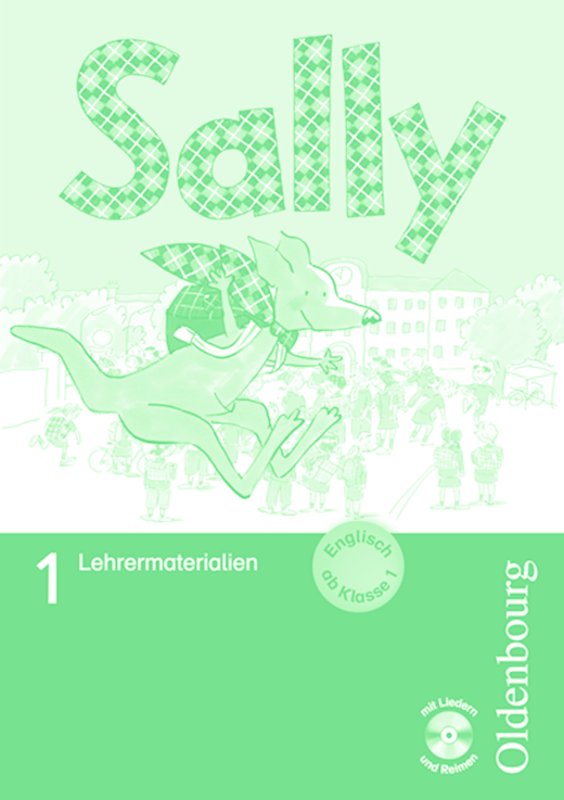 Sally - Lehrermaterialien mit Audio-CDs im Ordner - 1. Schuljahr