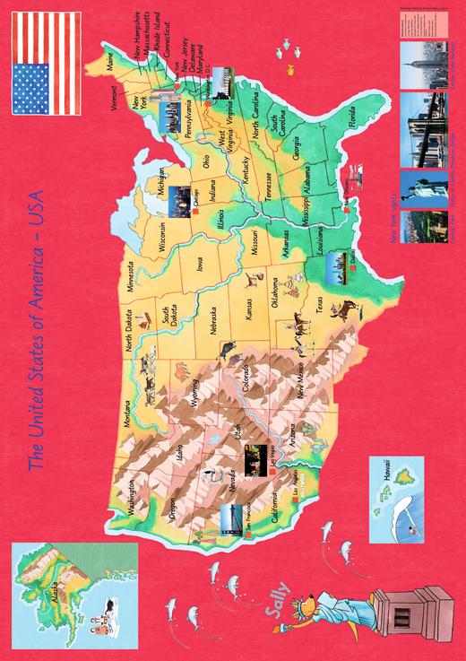 Sally - Great Britain and Ireland/USA - Poster - Zu allen Schuljahren