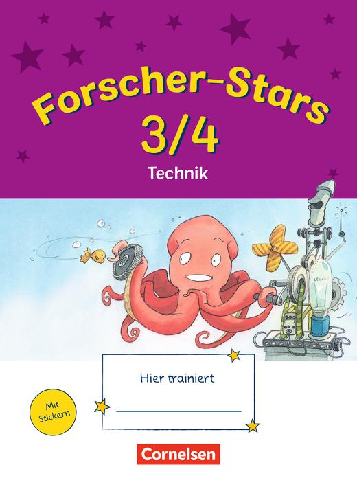 Forscher-Stars - Technik - Übungsheft - 3./4. Schuljahr