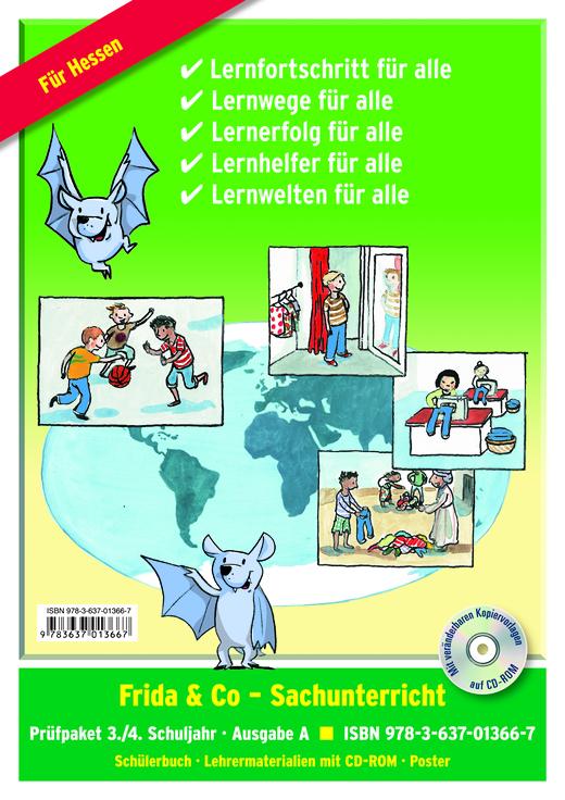Frida & Co - Sachunterricht - Prüfpaket - 3./4. Schuljahr