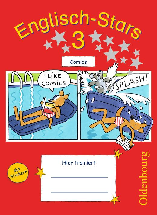Englisch-Stars - Übungsheft Comics - 3. Schuljahr