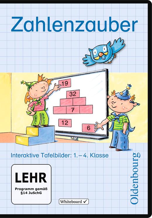 Zahlenzauber - Interaktive Tafelbilder auf CD-ROM - 1.-4. Schuljahr