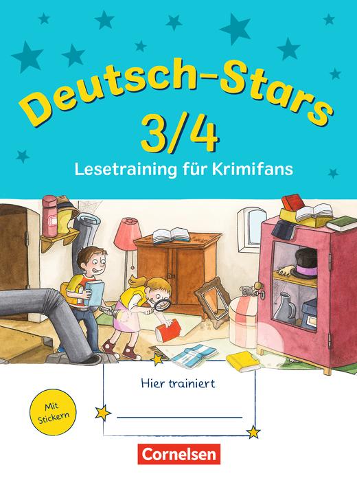 Deutsch-Stars - Lesetraining für Krimifans - Übungsheft - 3./4. Schuljahr