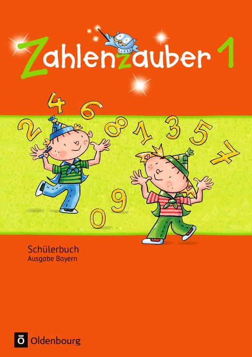 Zahlenzauber - Schülerbuch mit Kartonbeilagen - 1. Jahrgangsstufe