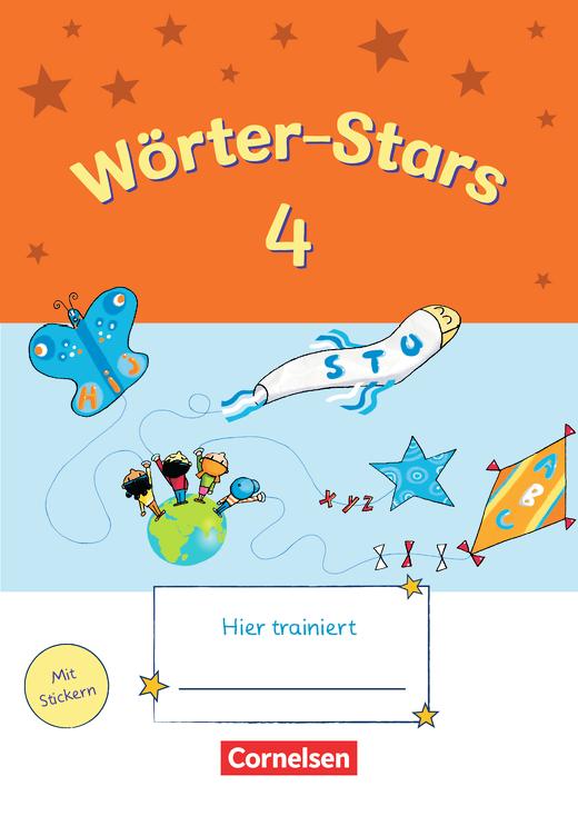 Wörter-Stars - Übungsheft - 4. Schuljahr