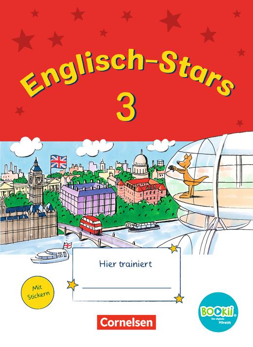 Englisch-Stars - Übungsheft - 3. Schuljahr