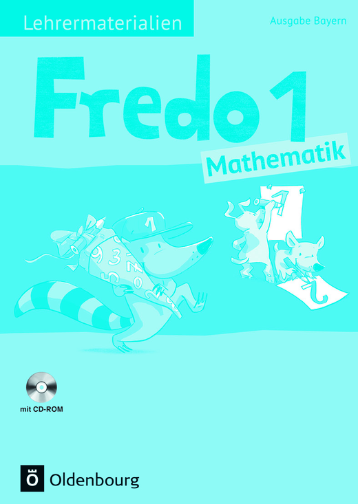 Fredo - Mathematik - Lehrermaterialien mit CD-ROM im Ordner - 1. Jahrgangsstufe