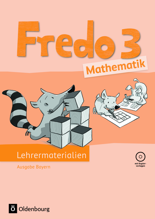 Fredo - Mathematik - Lehrermaterialien mit CD-ROM im Ordner - 3. Jahrgangsstufe