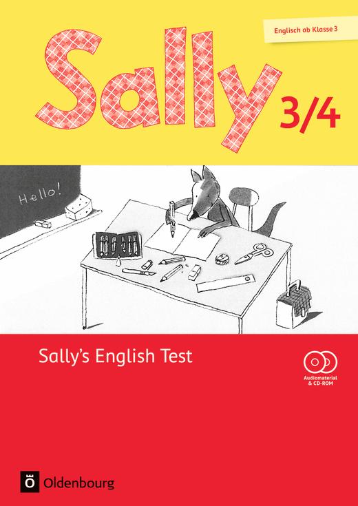 Sally - Sally's English Test - Lernstandskontrollen mit CD