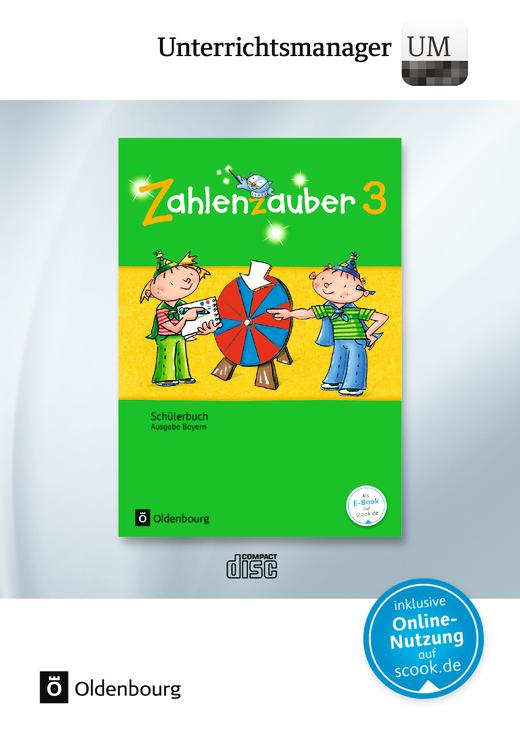 Zahlenzauber - Unterrichtsmanager - Vollversion auf DVD-ROM - 3. Jahrgangsstufe