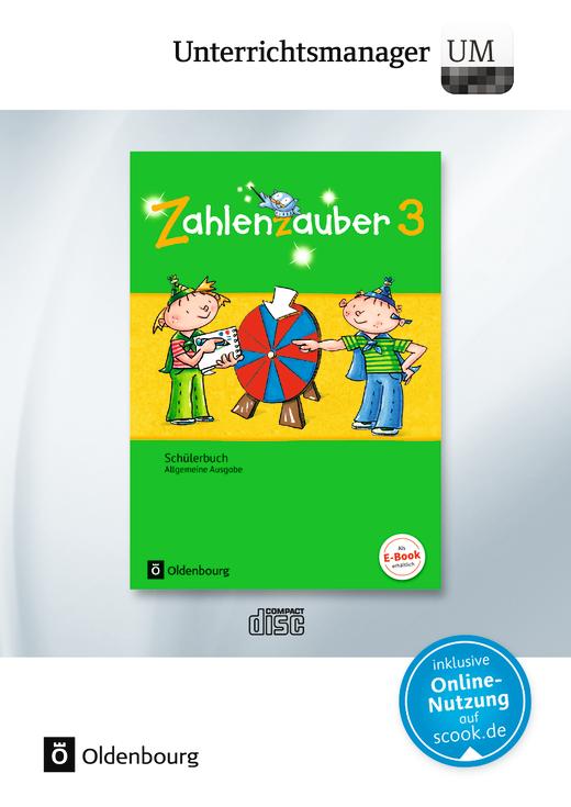 Zahlenzauber - Unterrichtsmanager - Vollversion auf DVD-ROM - 3. Schuljahr