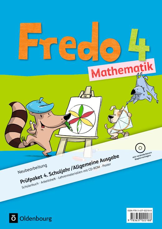 Fredo - Mathematik - Produktpaket - 4. Schuljahr