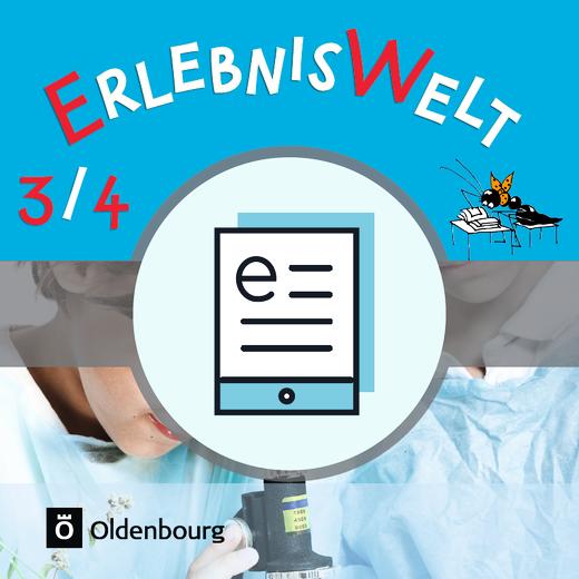 Erlebniswelt - Schülerbuch als E-Book - 3./4. Jahrgangsstufe