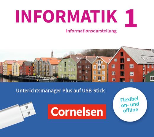 Informatik (Oldenbourg) - Begleitmaterial auf USB-Stick - Band 1