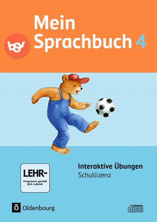 Mein Sprachbuch - Interaktive Übungen als Ergänzung zum Arbeitsheft - 4. Jahrgangsstufe