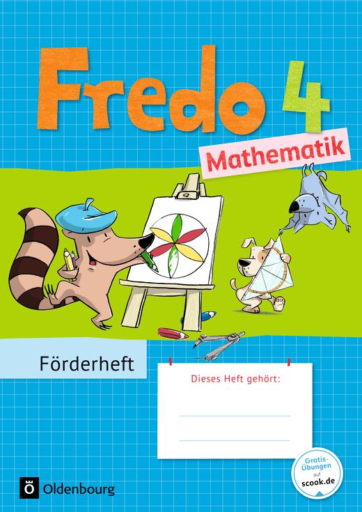 Fredo - Mathematik - Förderheft - 4. Schuljahr