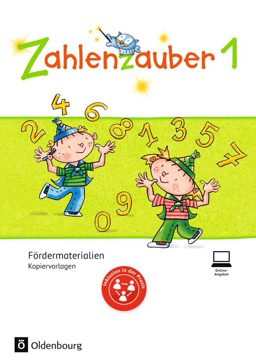 Zahlenzauber - Fördermaterialien - 1. Schuljahr